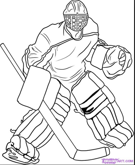 439x535 Images Of Hockey Helmet Coloring Pages