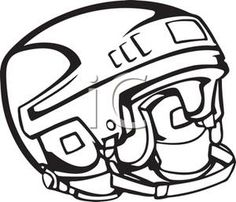 236x202 Hockey Helmet Coloring Pages Nhl Hockey Helmet Front Bauer