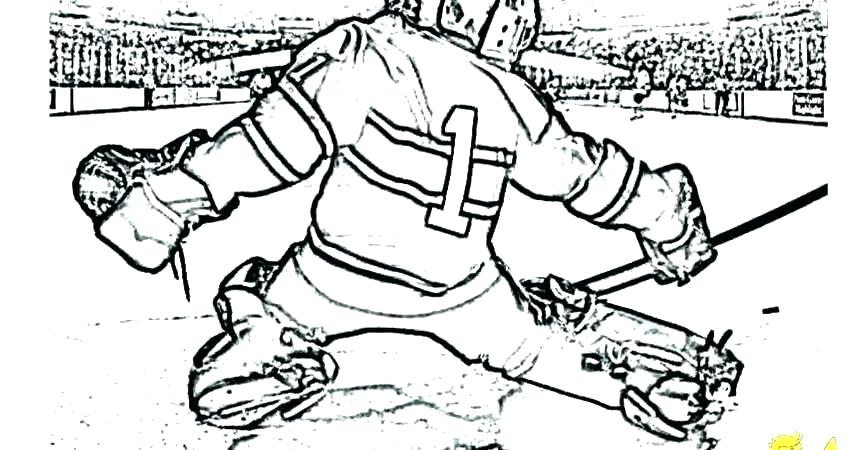 860x450 Coloring Pages Hockey Hockey Player On Ice Coloring Page Edmonton