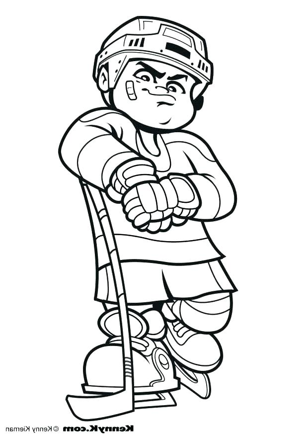 620x875 Cool Hockey Coloring Pages For Coloring Pages For Kids Online