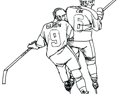 440x330 Ice Rink Coloring Pages Hockey Underdog New Free Download Pag