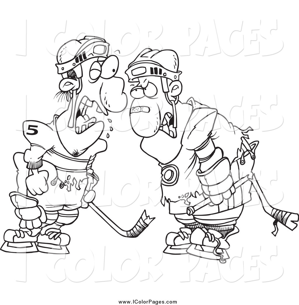 1024x1044 Hockey Coloring Pages