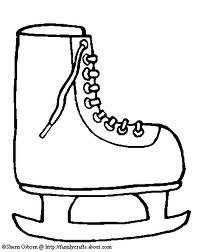 200x252 Learn How To Draw Ice Skates