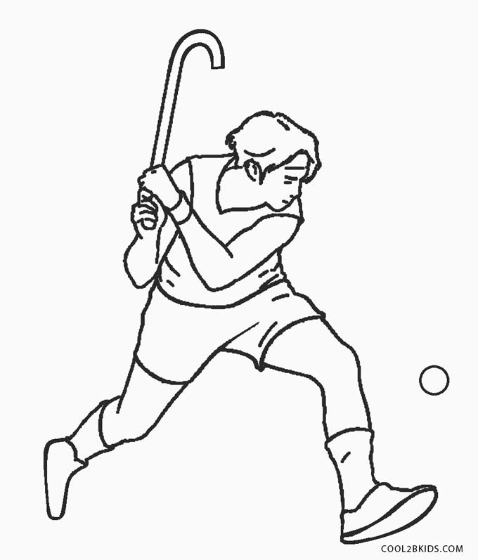 680x797 Free Printable Hockey Coloring Pages For Kids