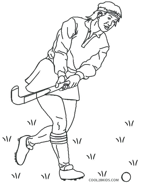 582x756 Hockey Coloring Page Hockey Coloring Pages Hockey Coloring Pages