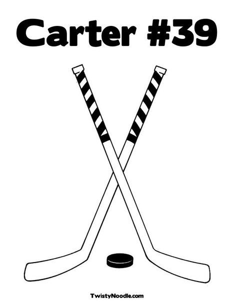 468x605 Hockey Sticks Coloring Page From Boys