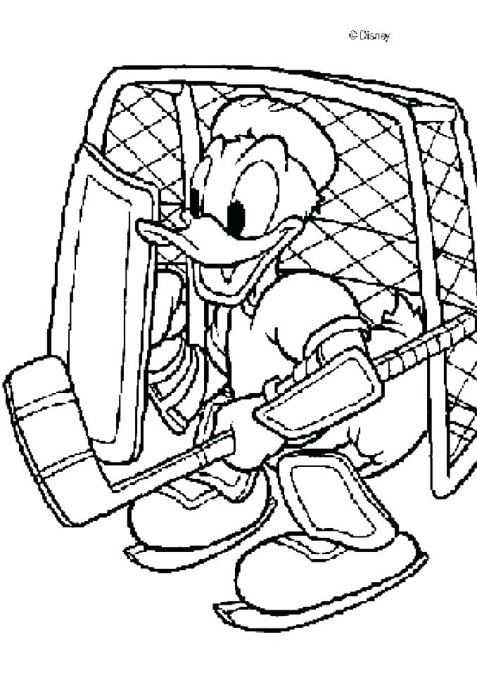 678x960 Printable Hockey Coloring Pages