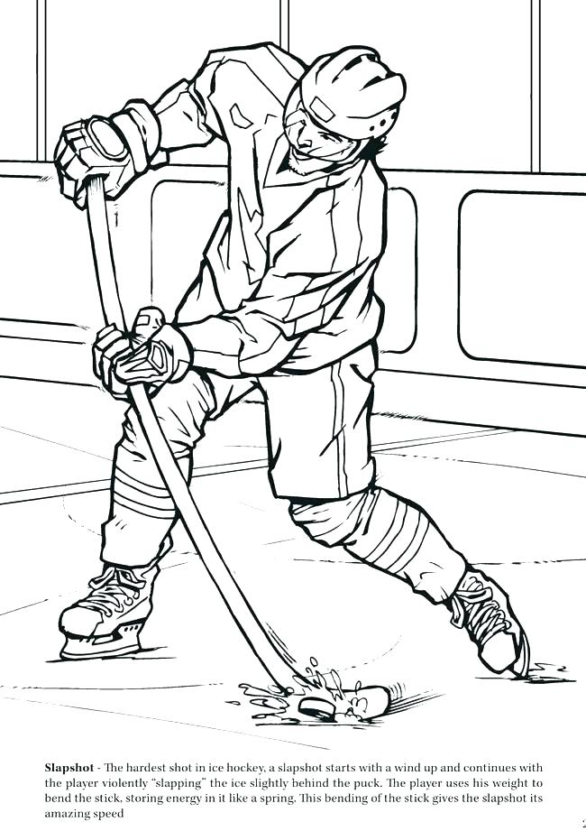 650x921 Coloring Pages Hockey Hockey Coloring Book As Well As Ice Hockey