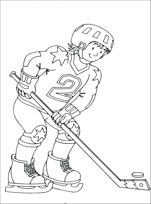 618x834 Coloring Pages Hockey National Hockey Teams Uniforms Coloring Page