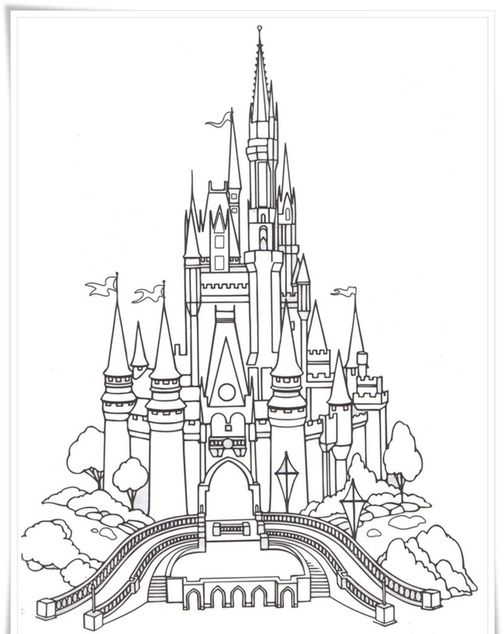 1030x1296 Free Printable Castle Coloring Pages For Kids Brilliant Page Acpra