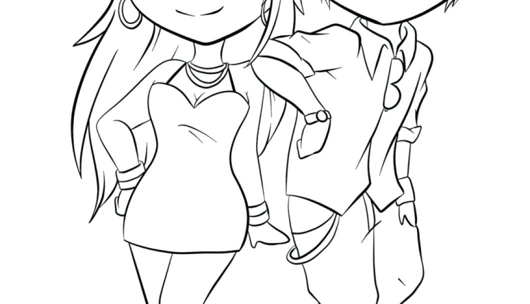 1060x608 Anime Couples Coloring Pages Sketches Couples Holding Hands