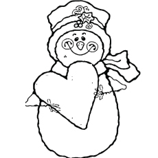 230x230 Top Free Printable Snowman Coloring Pages Online