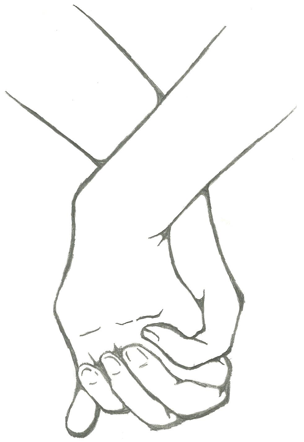 982x1428 Anime Couples Holding Hands Coloring Pages