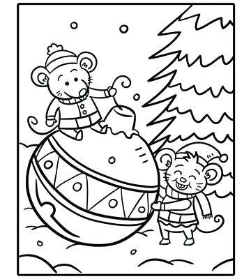 360x400 Free Holiday Coloring Pages Festive Holiday Coloring Pages