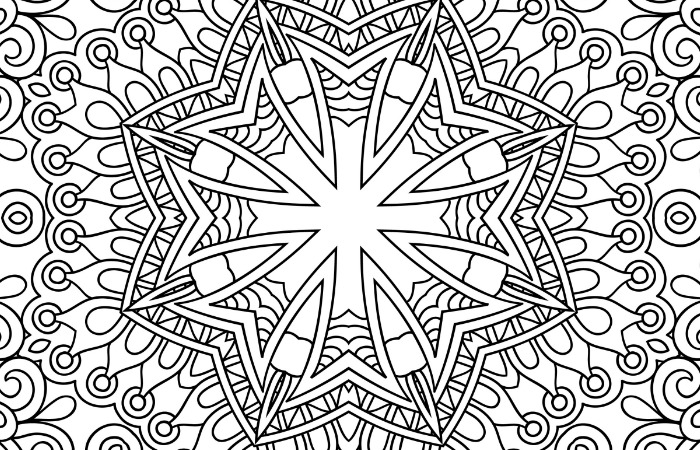 700x450 Free Printable Holiday Adult Coloring Pages