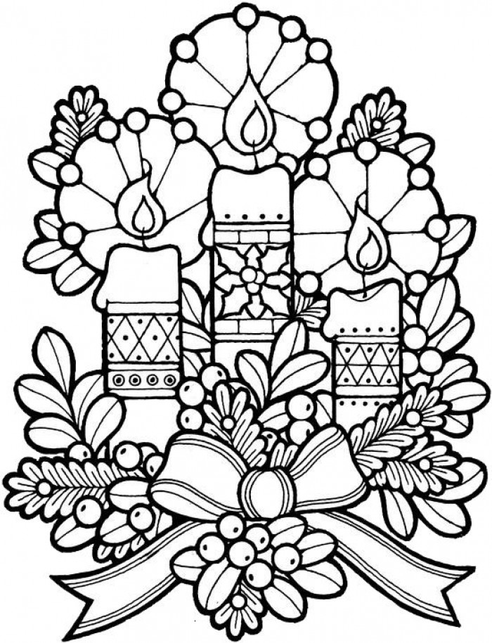 700x915 Relaxing Holiday Coloring Pages Christmas Adult Coloring Pages