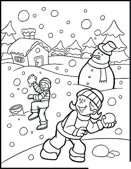426x550 Free Holiday Coloring Pages