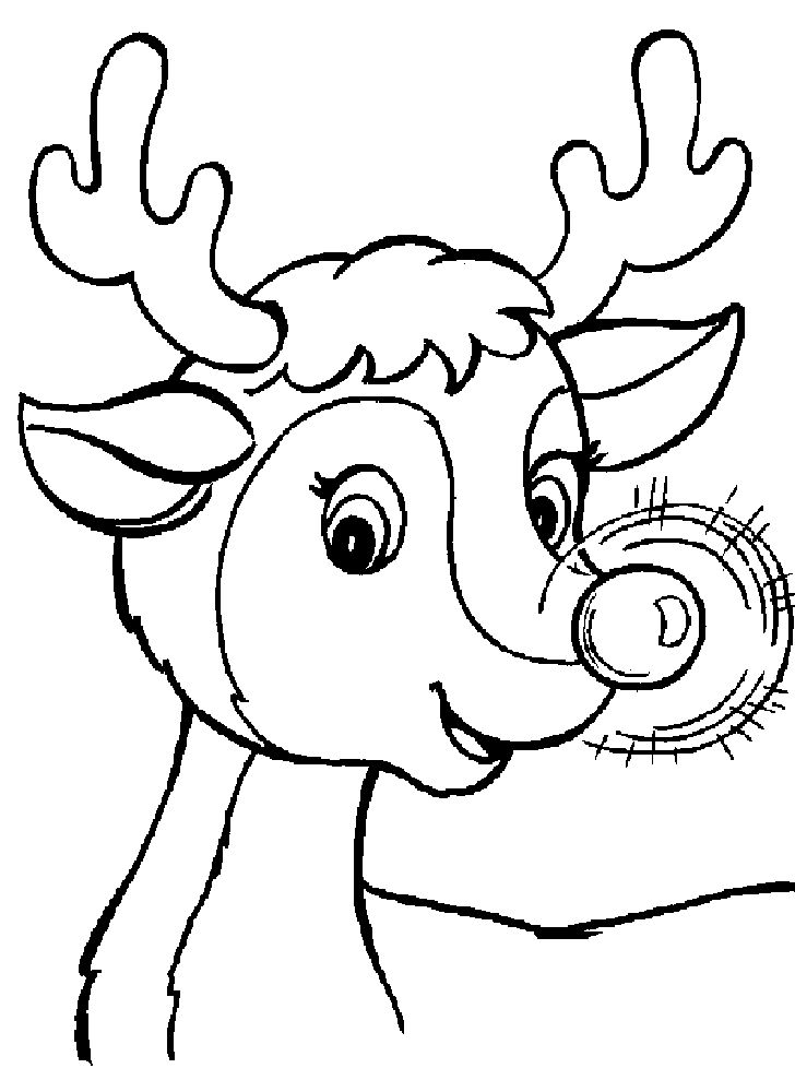 728x989 Christmas Coloring Pages Printable For Kids