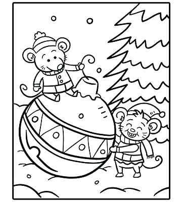 360x400 Free Holiday Coloring Pages S Free Online Printable Holiday