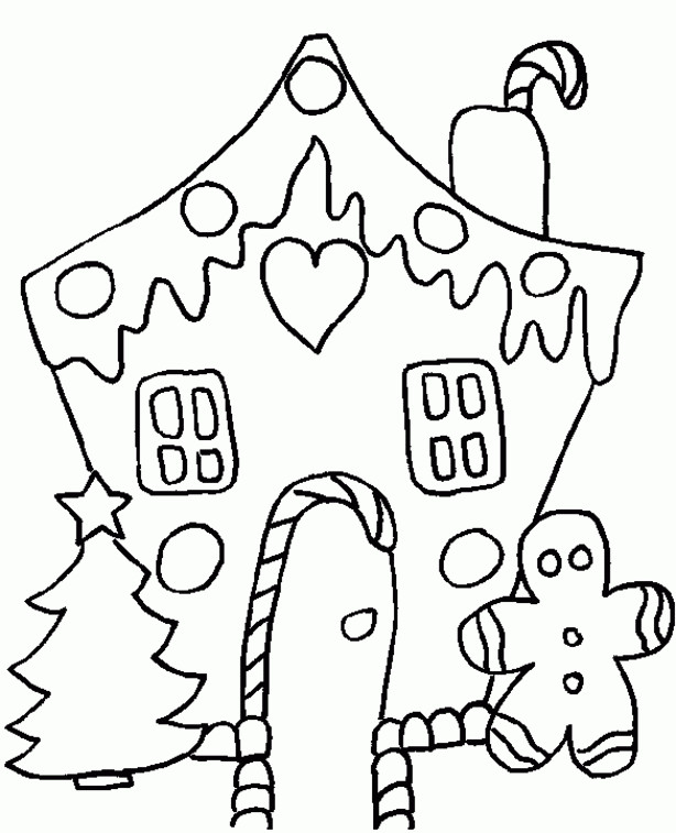 614x757 Holiday Coloring Pages Online