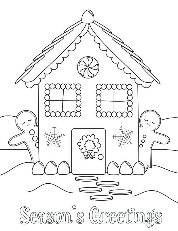 618x800 Winter Holiday Coloring Pages Printable Coloring Pages For Kids