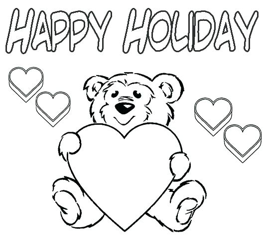 534x507 Holiday Coloring Pages For Adults As Well As Very Pretty Coloring