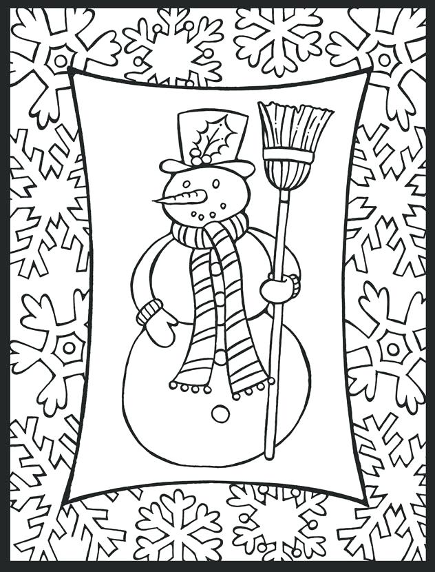 Holiday Coloring Pages To Print at GetDrawings.com | Free ...