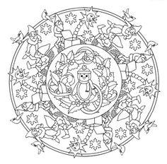 236x232 Mandala Creative Haven Christmas Mandalas Coloring Book