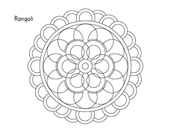 350x271 Holidays Around The World Diwali Coloring Sheets