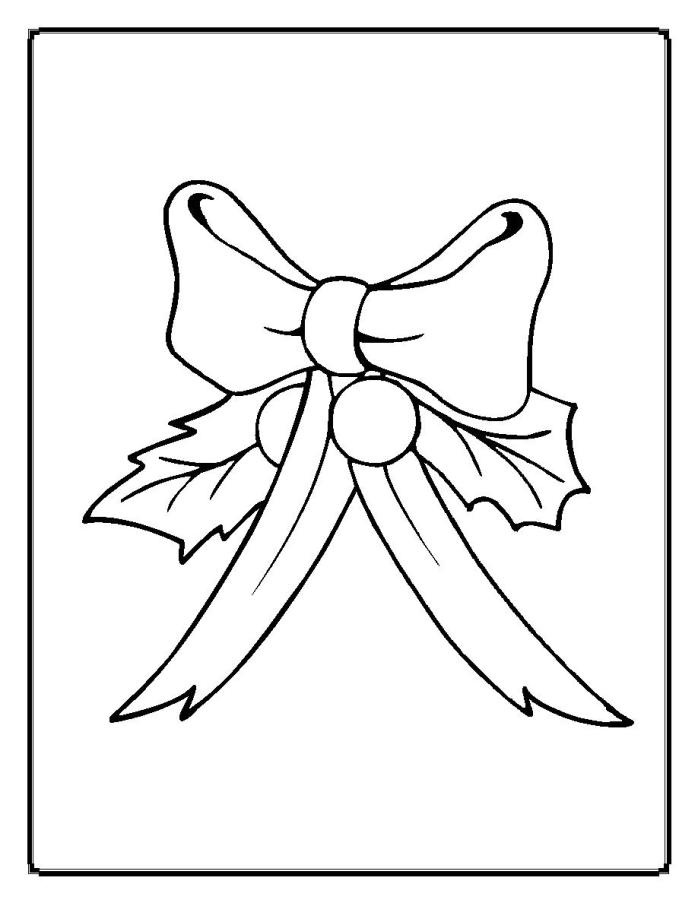 698x903 Christmas Holly Coloring Pages
