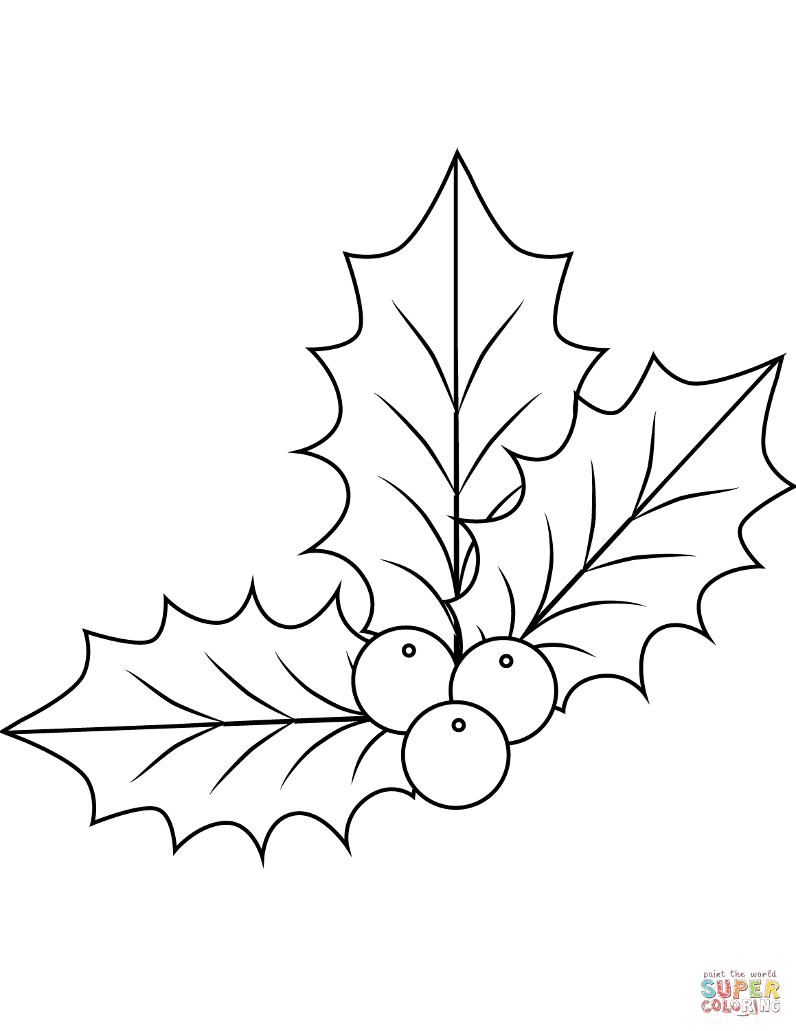 1159x1500 Christmas Holly Drawings Christmas Holly Berries Coloring Page