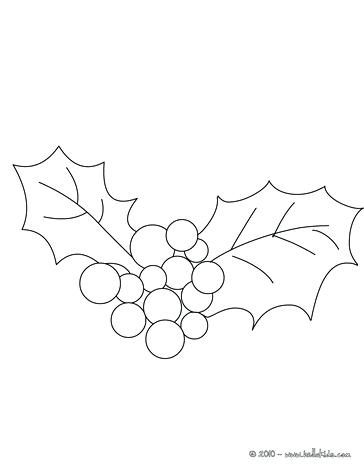 364x470 Holly Coloring Page Holly Branch Holly For Coloring Page Holly