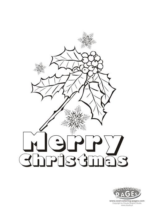 472x678 Christmas Holly Berries Christmas Coloring Pages