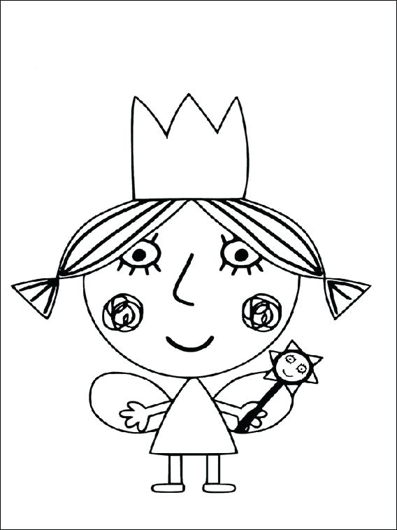 568x758 Holly Coloring Pages And Holly Coloring Pages Little Kingdom