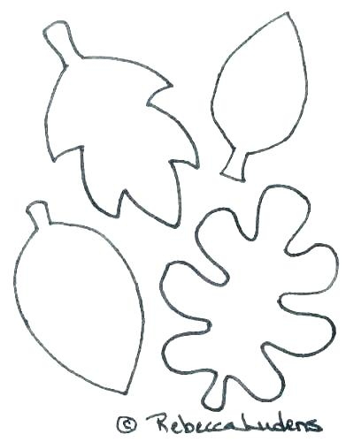 391x500 Leaves Coloring Pages Printable Leaves Coloring Pages Tree Leaves