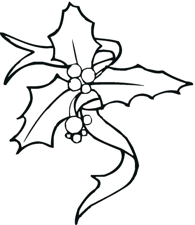 660x760 Holly Coloring Pages Jgheraghty Site