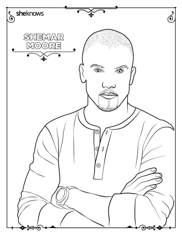 736x952 Adult Coloring Book Pages Of Hollywood's Hottest Men