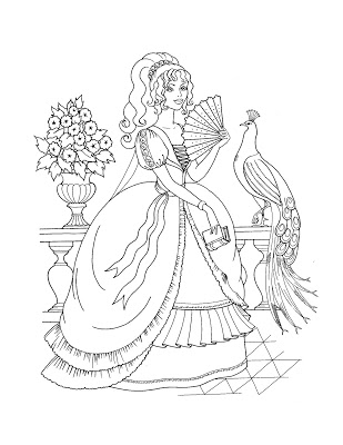 309x400 Hollywood Gallery Coloring Pages Princess