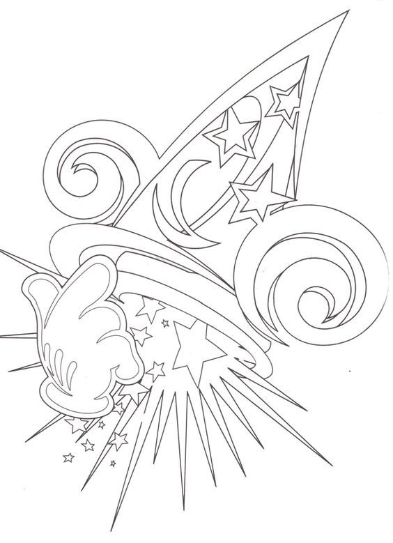 564x779 Hollywood Studios Lineart Designs