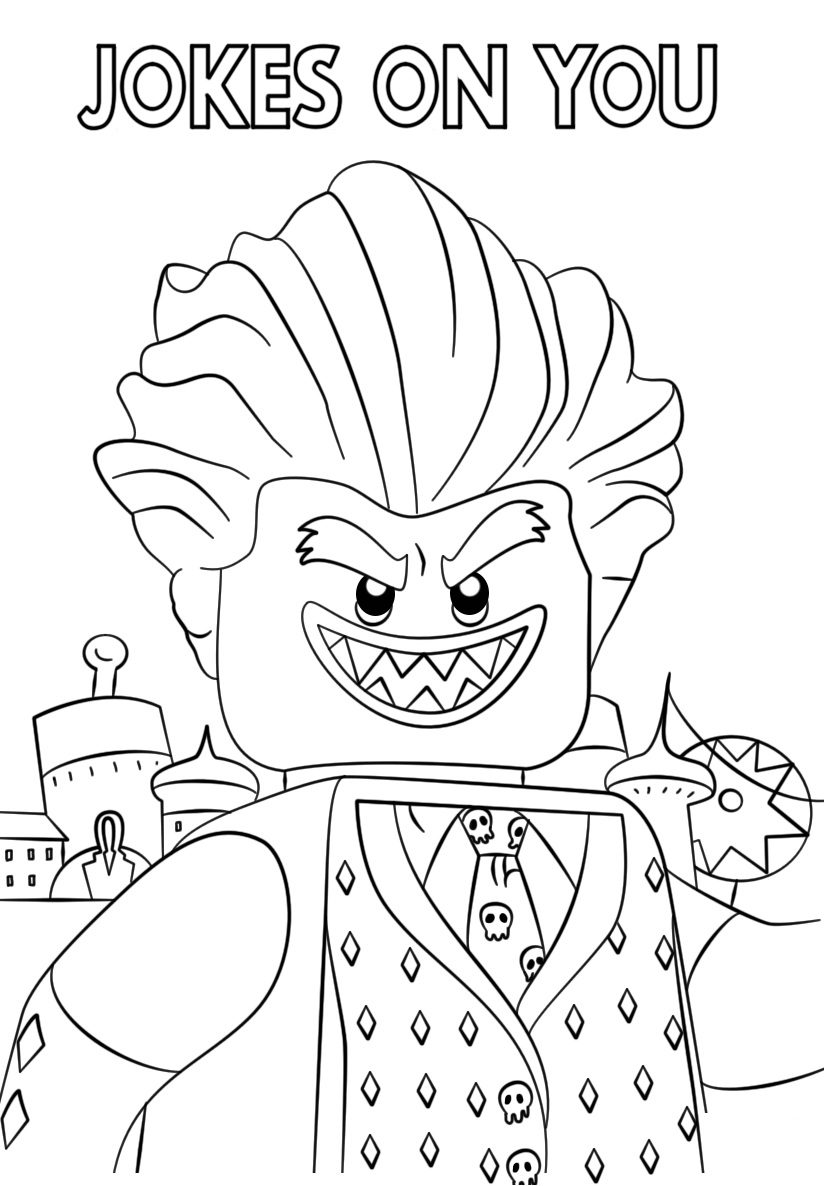 824x1186 The Lego Batman Movie Jocker Coloring Page Free Pages Online