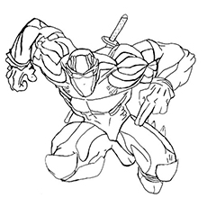 230x230 Top Free Printable Ninja Coloring Pages Online