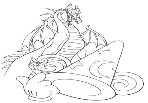 476x333 Disney World Coloring Sheets Page Image Clipart Images