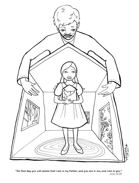576x756 Holy Spirit Coloring Pages Holy Spirit Coloring Pages Promises