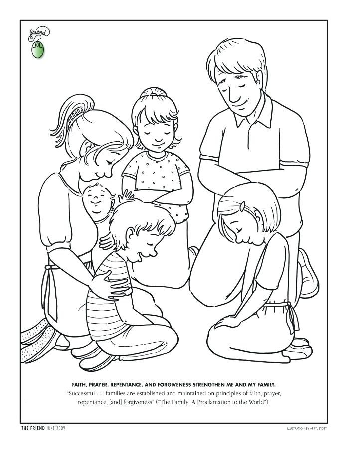 694x902 Holy Family Coloring Page Holy Family Coloring Pages Holy Family
