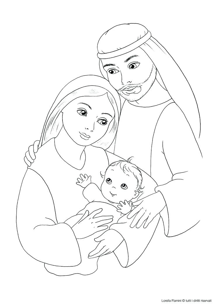 736x1041 Holy Family Coloring Page Holy Family Coloring Pages Page Holy