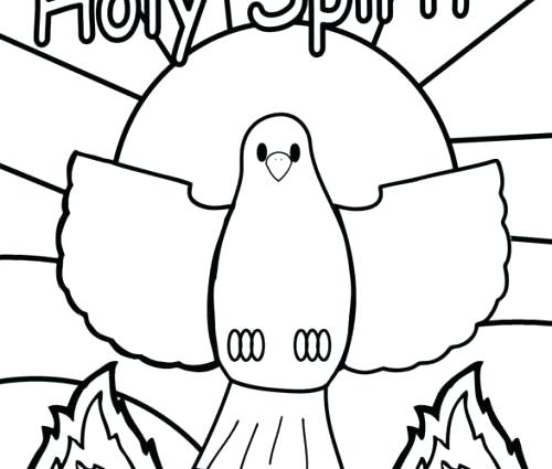 500x425 Holy Spirit Coloring Page Holy Spirit Coloring Pages Holy Spirit