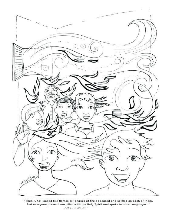 558x722 Holy Trinity Coloring Pages Holy Spirit Coloring Page Image Holy