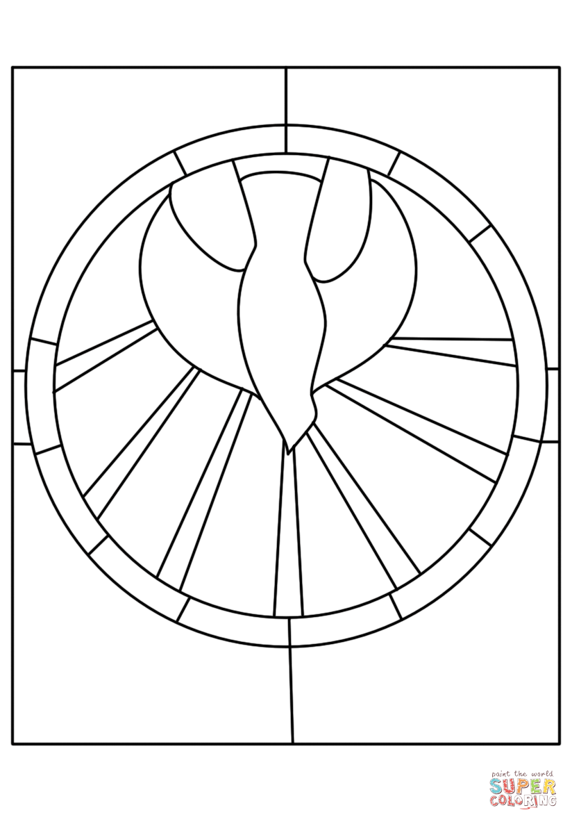 824x1186 Now Holy Spirit Coloring Page The Comes At Pen