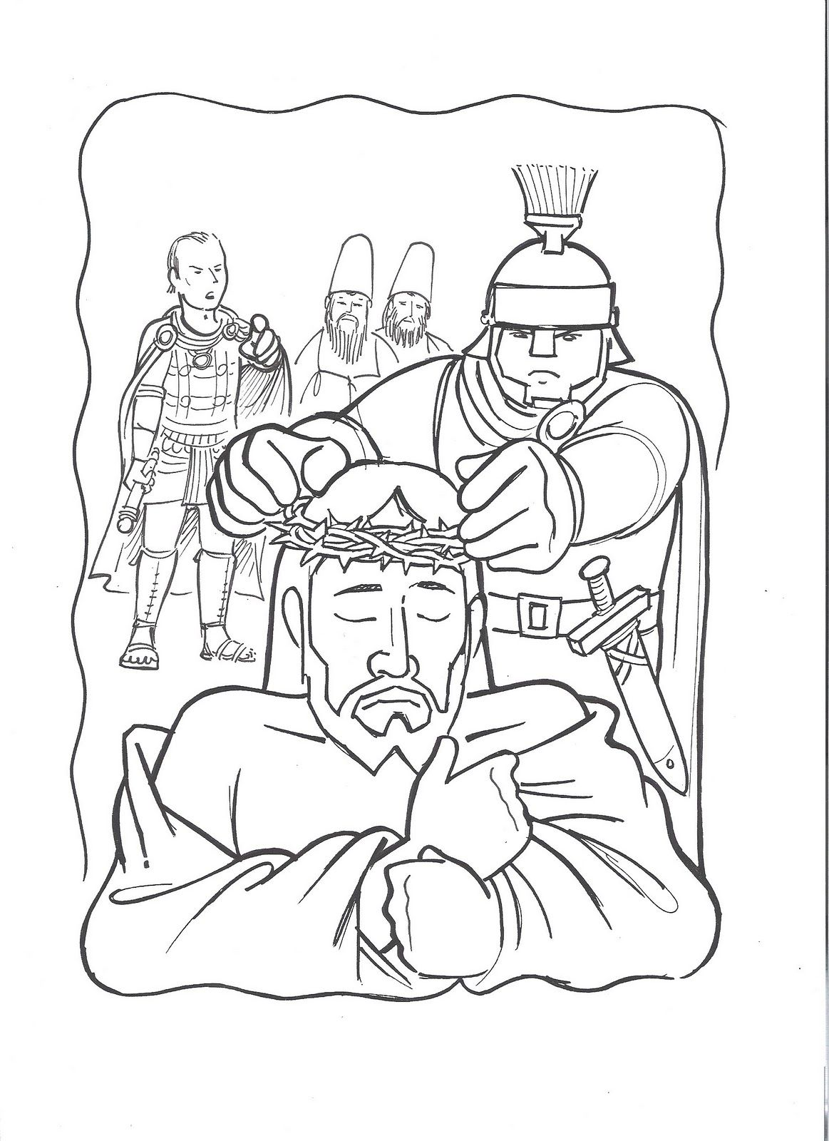 Holy Thursday Coloring Pages At Getdrawingscom Free For