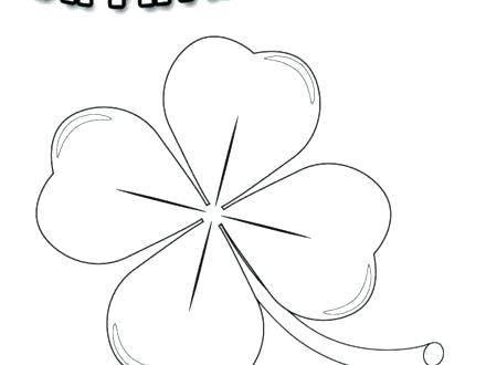 440x330 Holy Trinity Coloring Pages Shamrock Coloring Sheets Shamrock